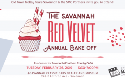 Cake, Classic Cars, and CASA! February's SMC Gives Charity Networking Fundraiser Is the Annual Red Velvet Bake Off