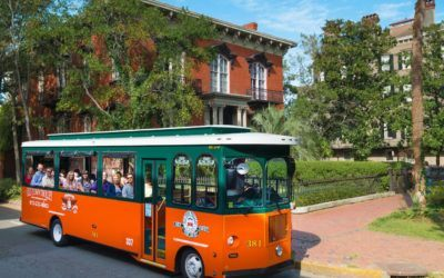 Old Town Trolley—Savannah's Most Environmentally Friendly Touring Company