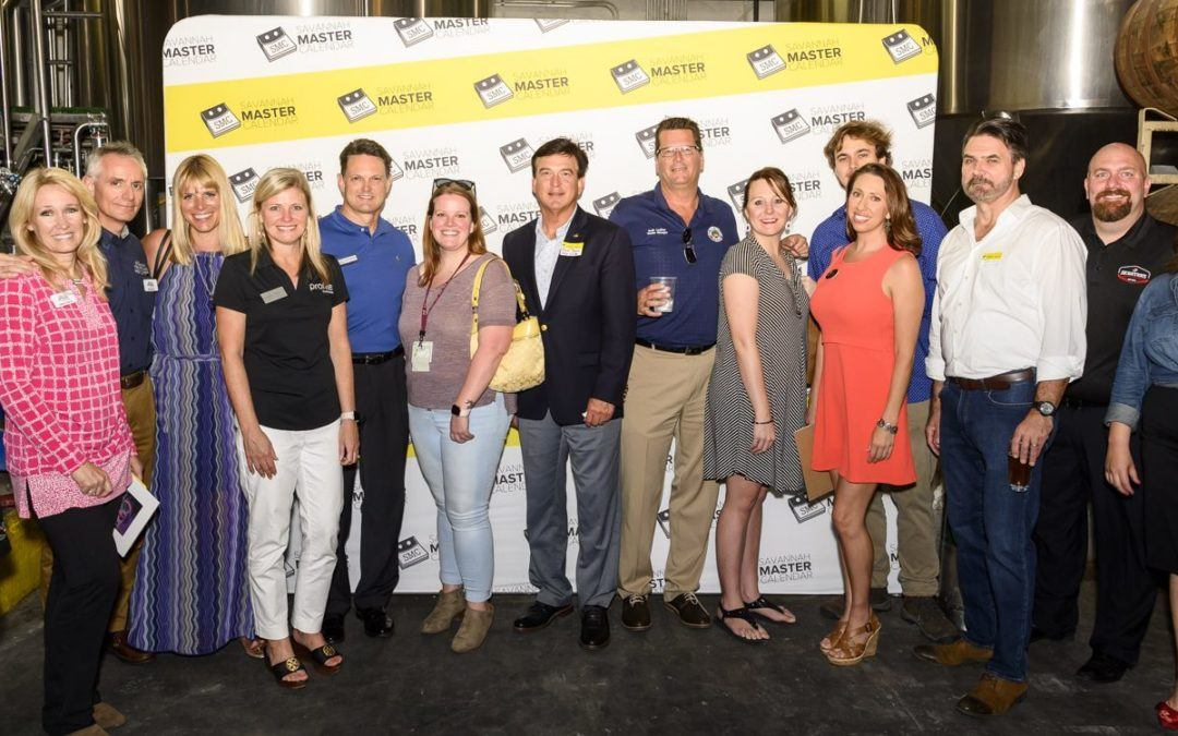 Badges & Brews Networking Social Raises over $1,000 for the 200 Club of the Coastal Empire