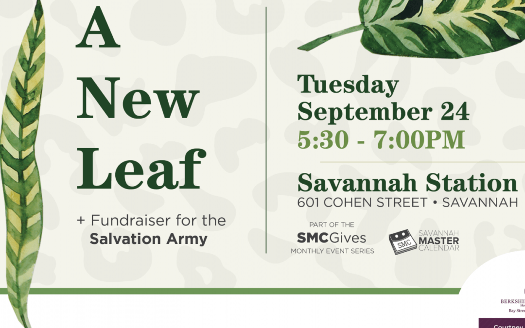 """""""A New Leaf"""" Event Will Raise Funds for Salvation Army"""