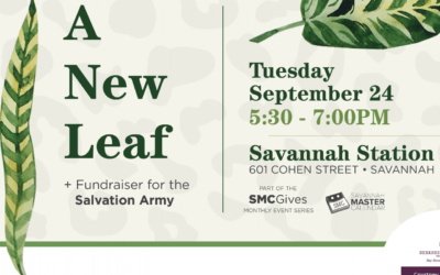 """A New Leaf"" Event Will Raise Funds for Salvation Army"