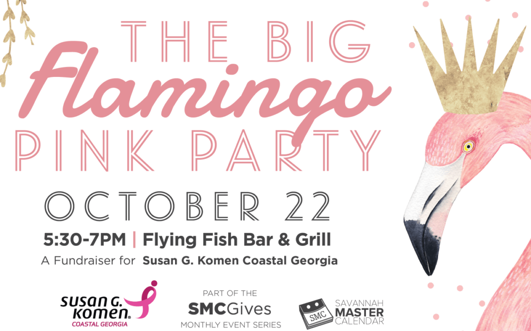 SMC Partners Announce the Big Flamingo Pink Party to Support 2019 Komen Coastal Georgia Big Wigs Campaign