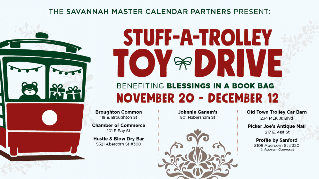 Stuff-A-Trolley Toy Drive to Benefit Blessings in a Book Bag