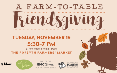 Hustle and Blow Dry Bar and the SMC Partners to Host Friendsgiving Fundraiser for Local Farmers' Market