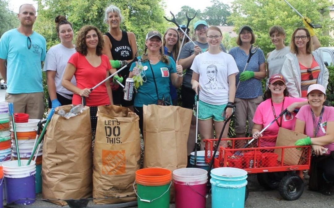 Savannah Trash Warriors Cleaning up the City!