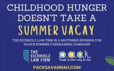 Childhood Hunger Doesn't Take a Summer Vacay: PACK Announces Summer Fundraising Campaign